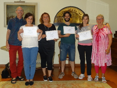Consciousness Theater teachers in Italy